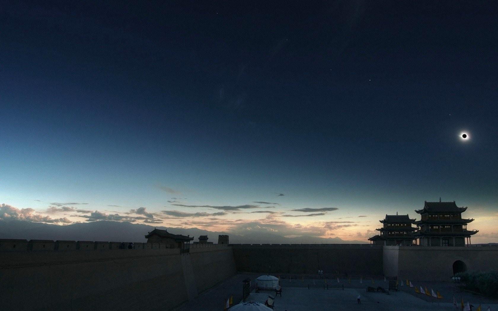 Digital Mobile Wallpaper Eclipse Backgrounds Artdownload 1680x1050