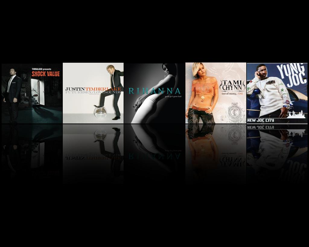 Rock Album Covers Desktop Wallpaper 1024x819
