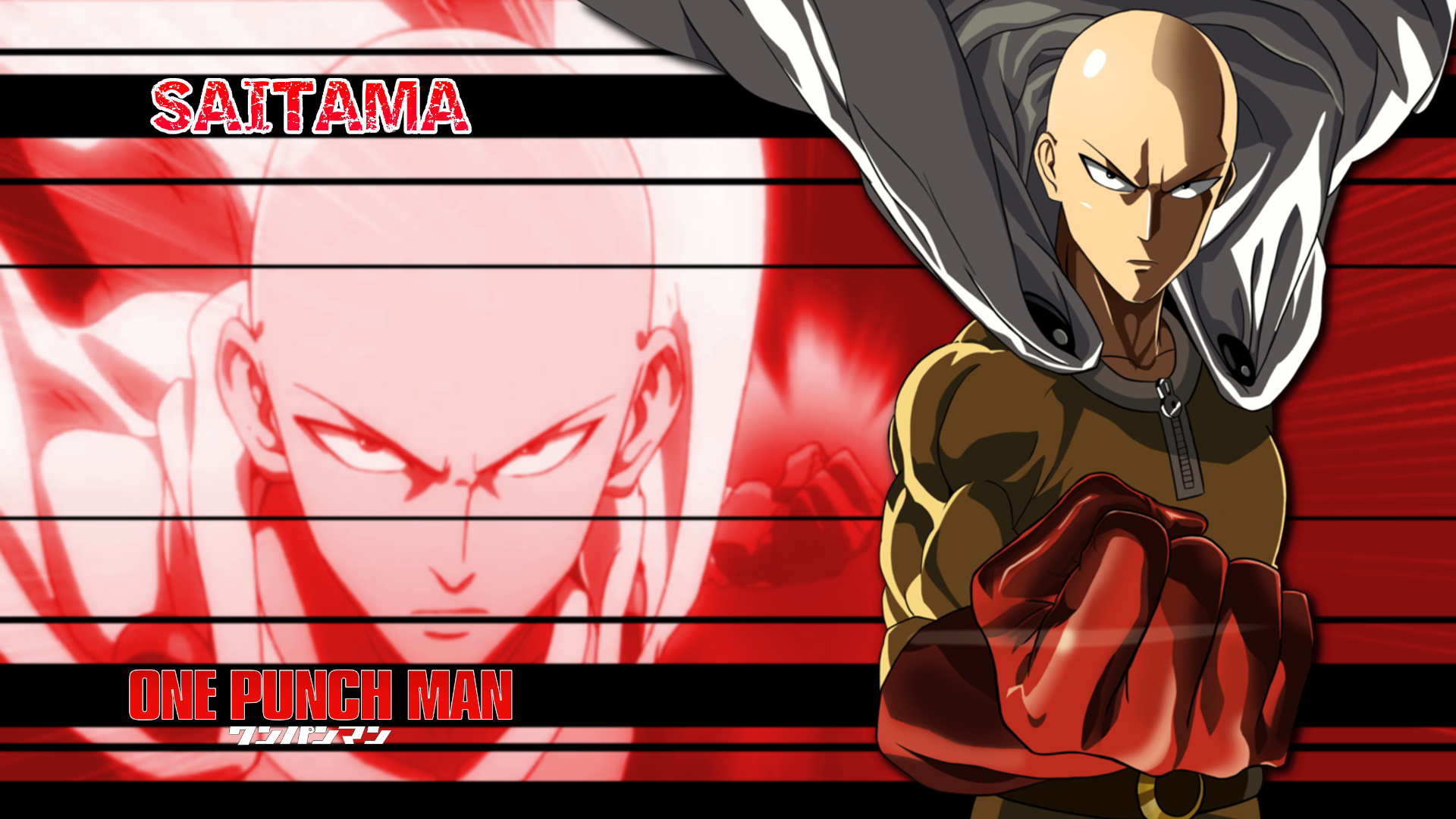 Free Download One Punch Man Saitama Wallpaper6 1920x1080 For Your