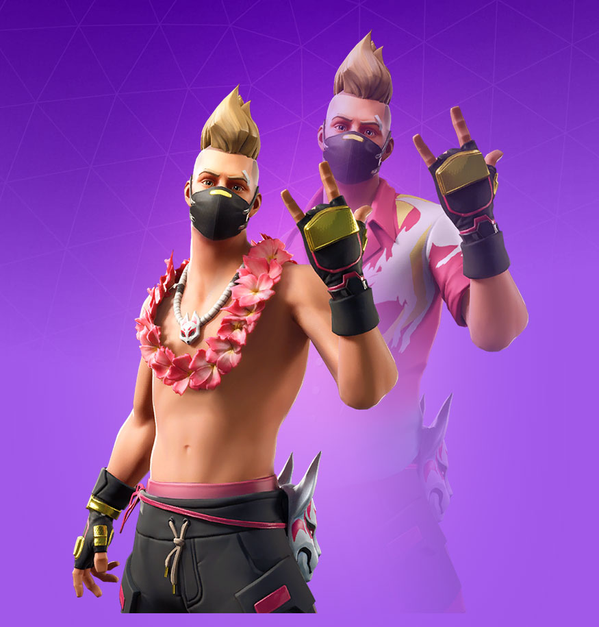 Fortnite Summer Drift Skin   Outfit PNGs Images   Pro Game Guides 875x915