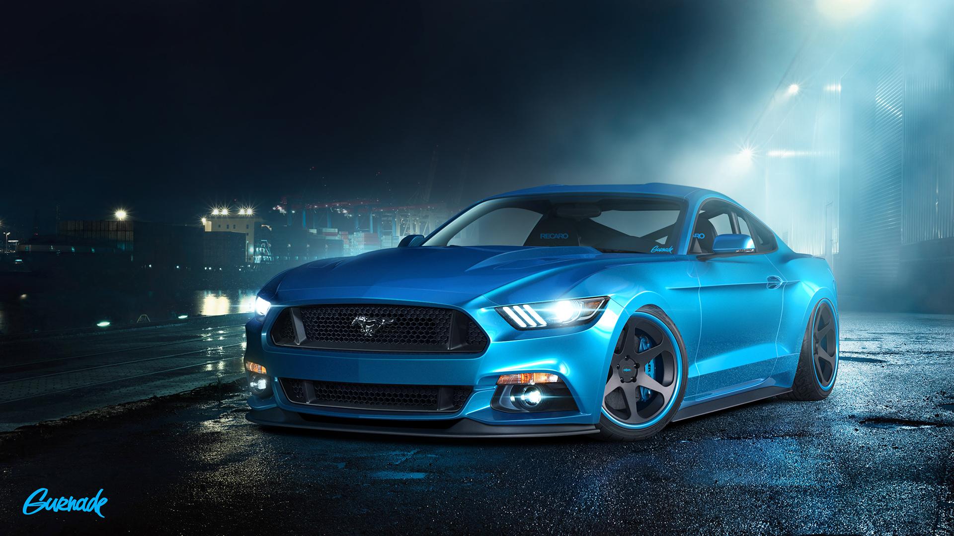 2015 Ford Mustang GT Wallpaper HD