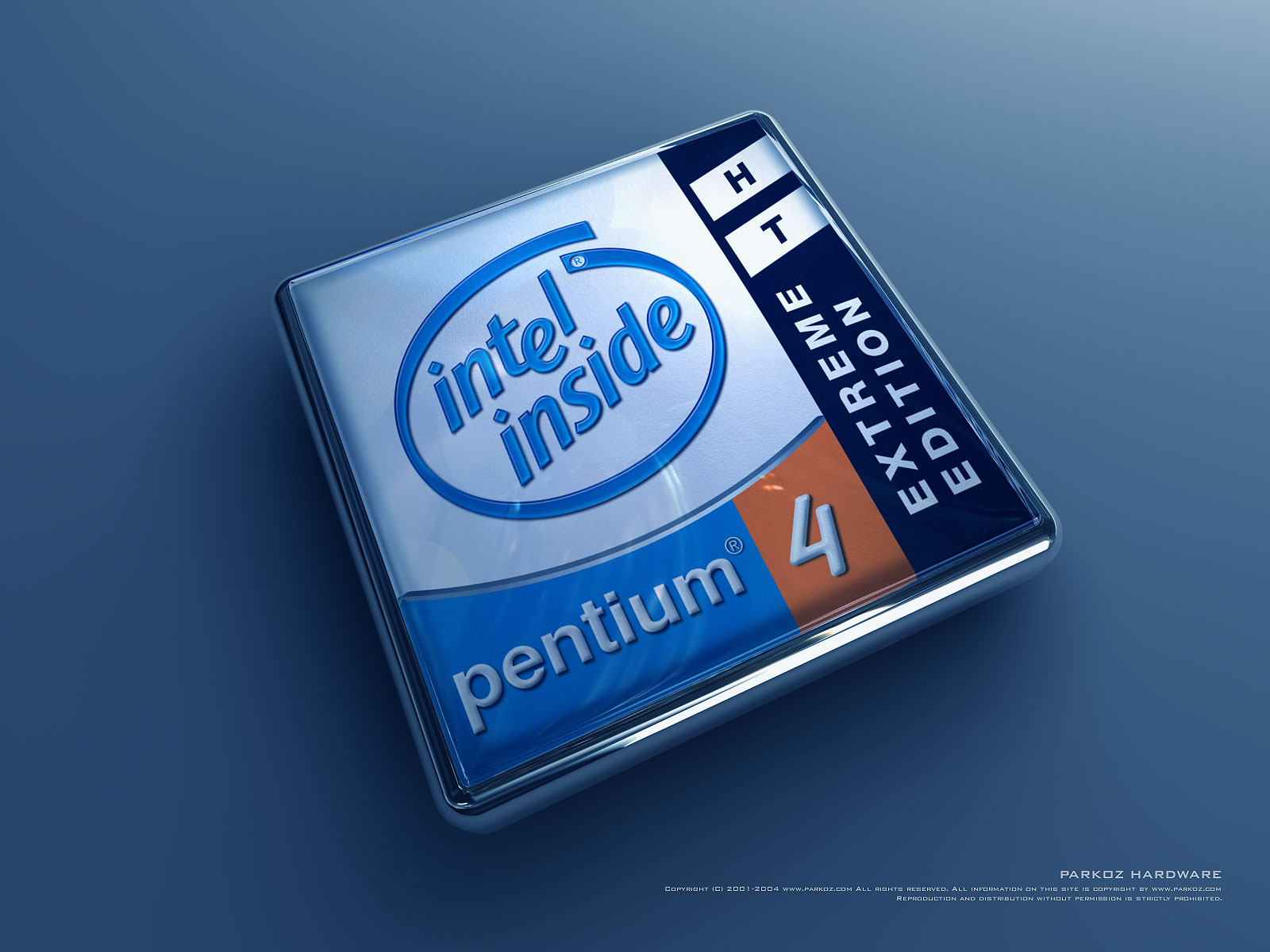 Logo Wallpapers   Download Intel Pentium 4 HT EE Wallpapers 1600x1200
