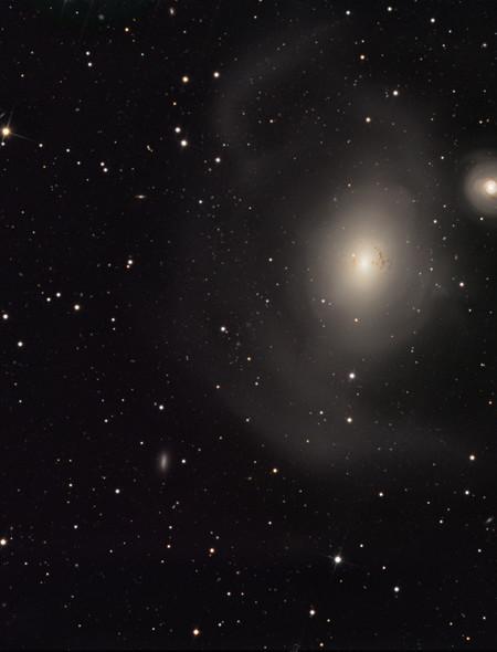 Galaxy Pair NGC 1316 NGC 1317 Wallpaper for Amazon Kindle Fire HD 7 450x590