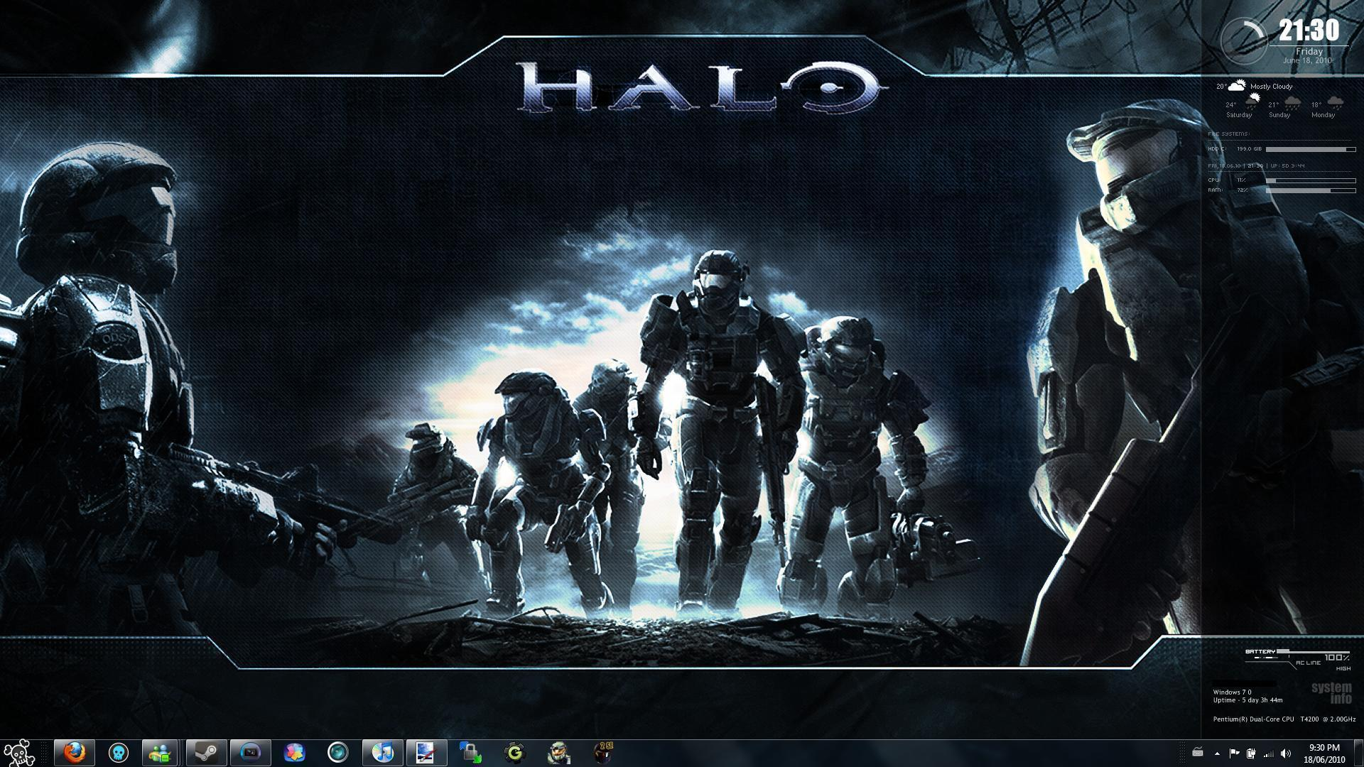 Cool Halo Wallpapers 1920x1080