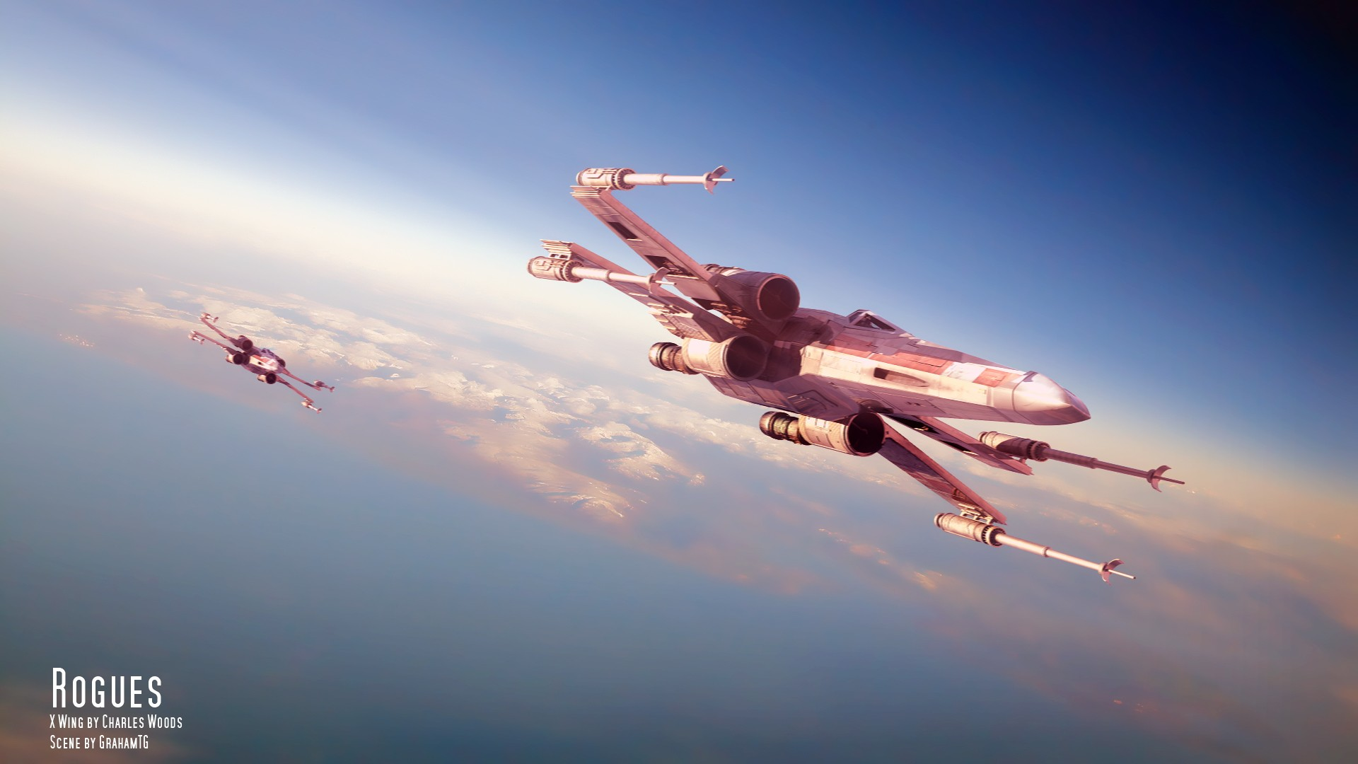 Star Wars X wing Sky Wallpapers HD Desktop and Mobile 1920x1080