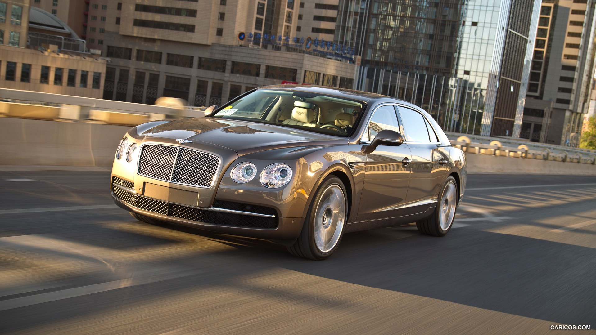 2014 Bentley Flying Spur Cashmere   Front HD Wallpaper 11 1920x1080
