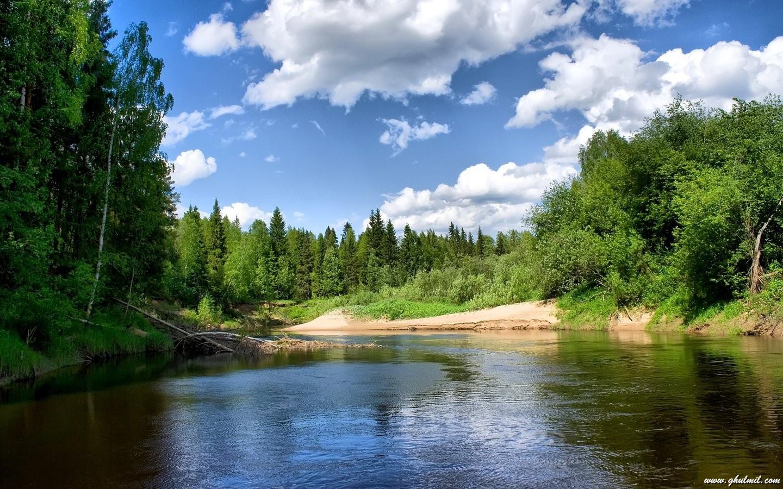 BEAUTIFUL NATURE WALLPAPER LAKES IMGUST
