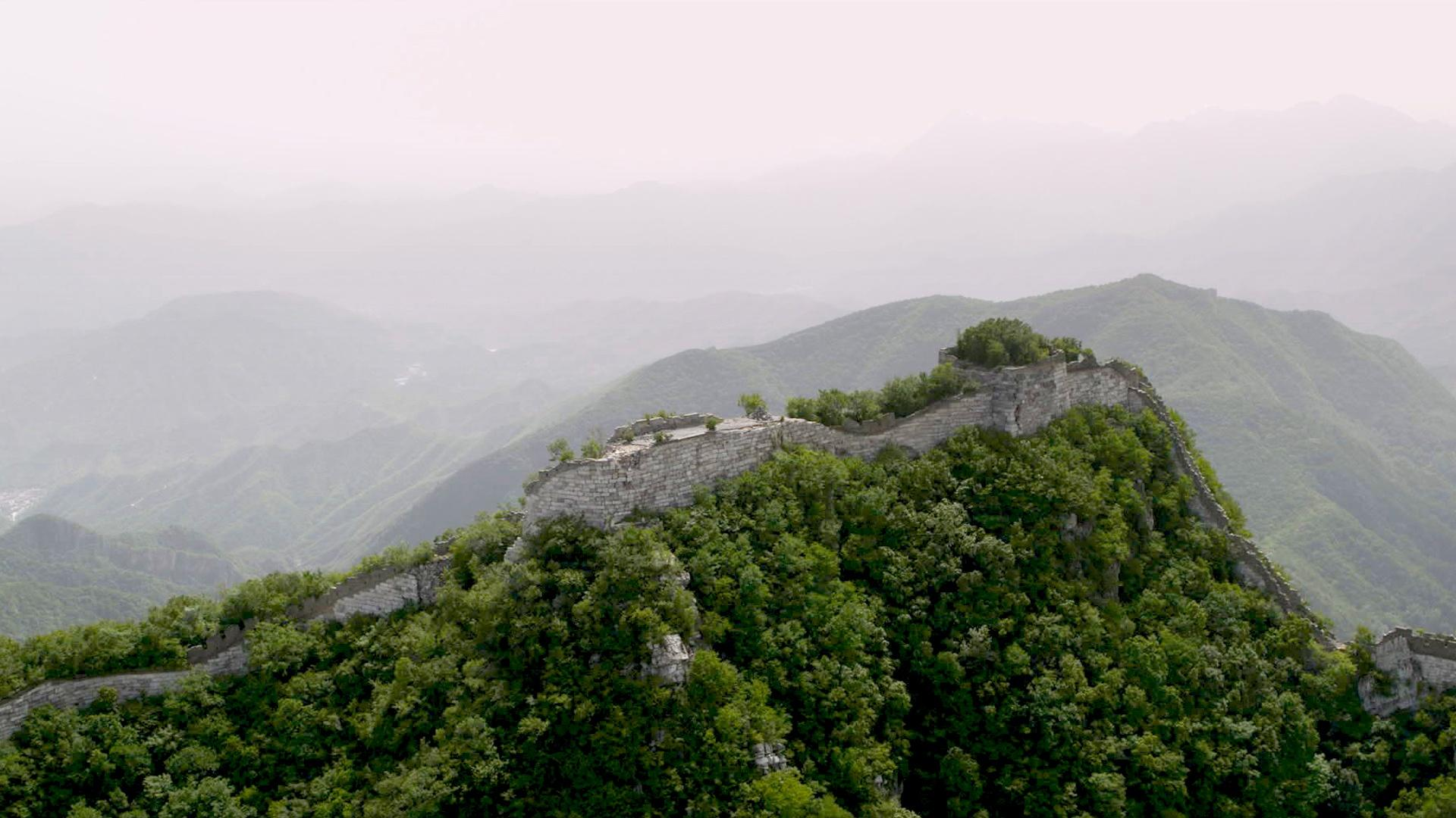 Restoring the Great Wall Made Possible by Intel Drones and AI 1920x1080