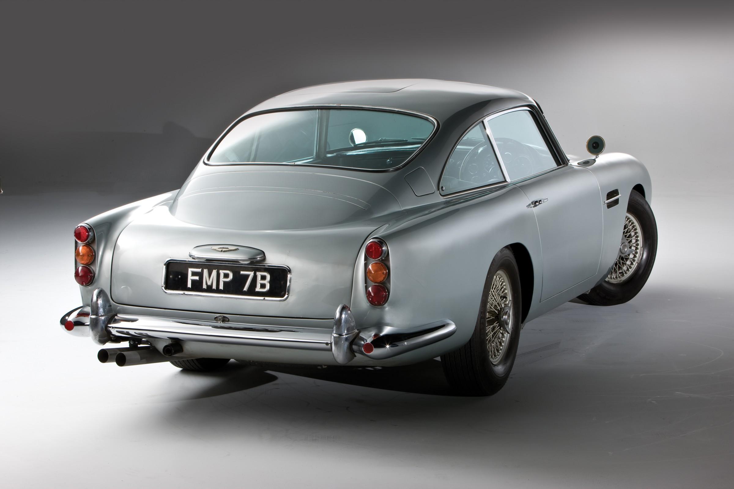 Aston Martin DB5 James Bond Edition Wallpapers Car wallpapers HD 2400x1600