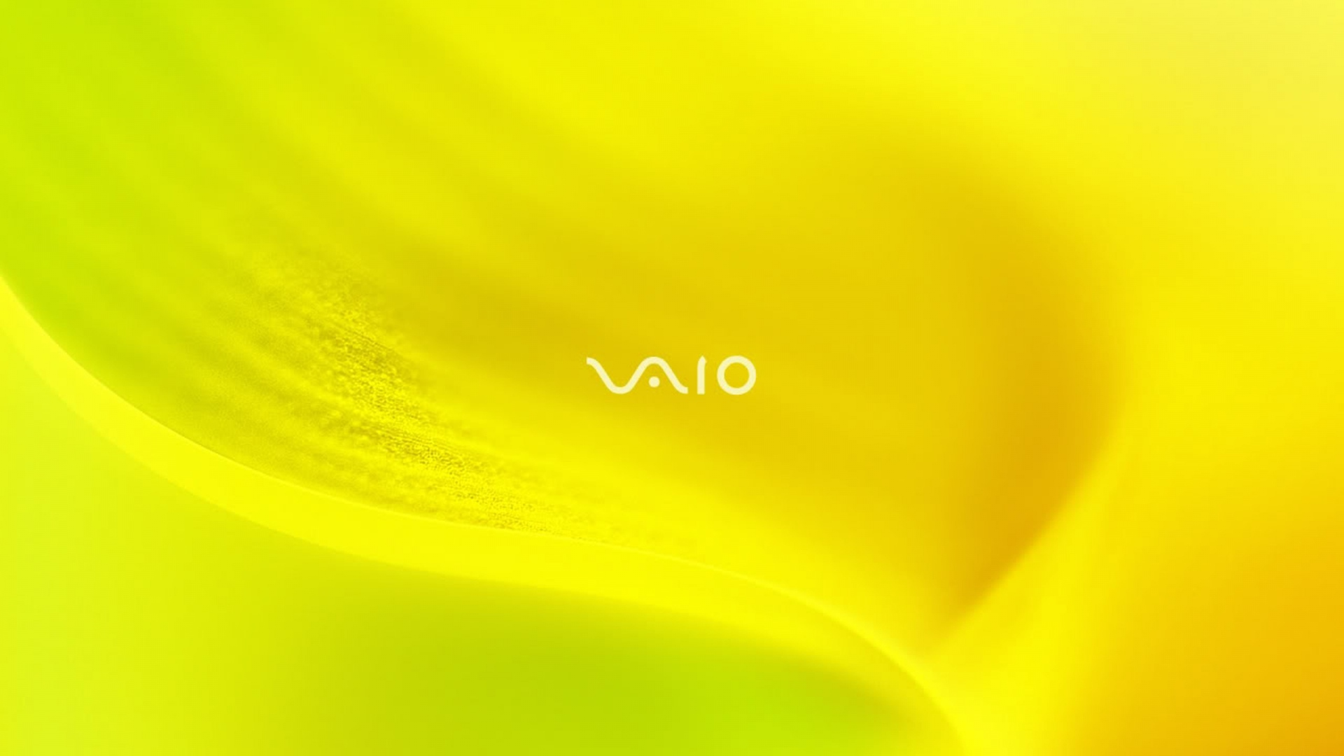 Hd wallpaper vivo - Wallpaper 1920x1080 Sony Vaio Yellow System Line Full Hd 1080p