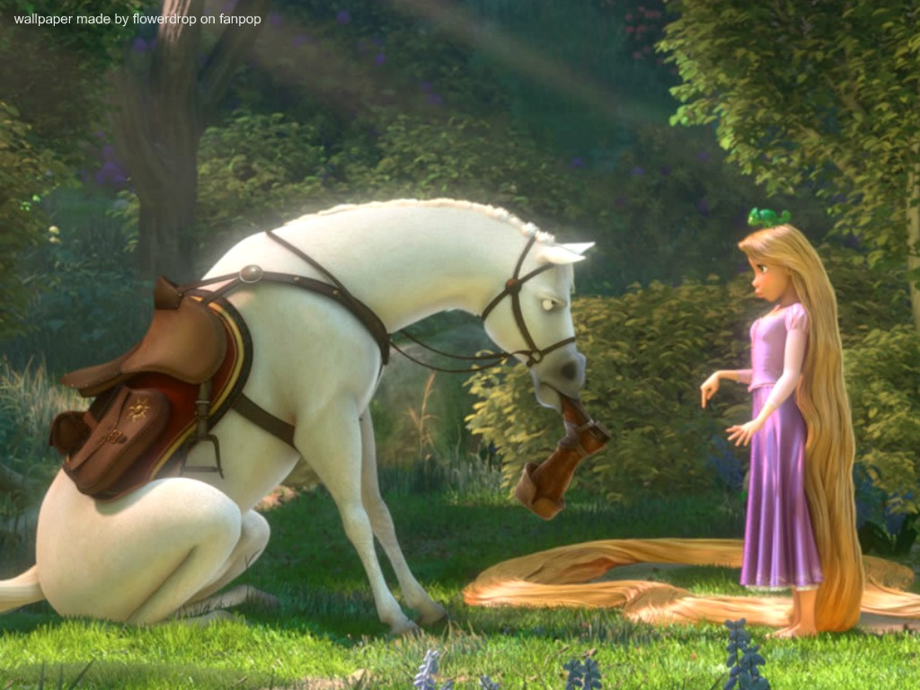 Rapunzel Wallpaper   Disney Princess Wallpaper 28959158 1024x768