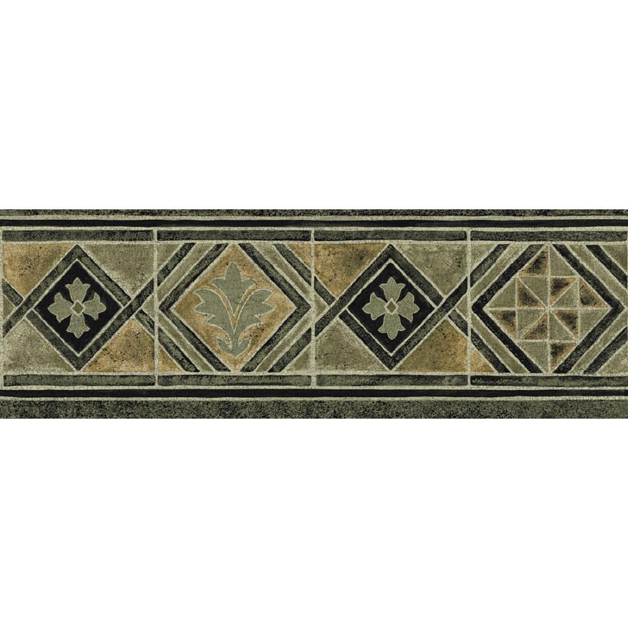 Shop Sanitas 6 78 Moroccan Tile Prepasted Wallpaper Border at Lowes 900x900