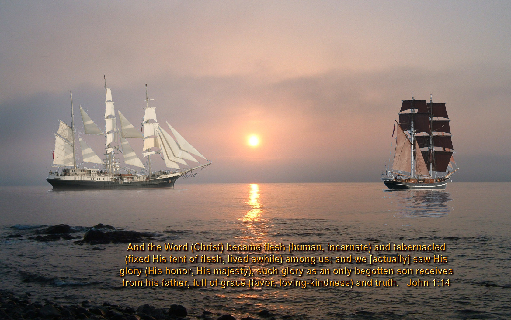 Bible verses sailing wallpaper 171 Christian Wallpapers 1680x1054