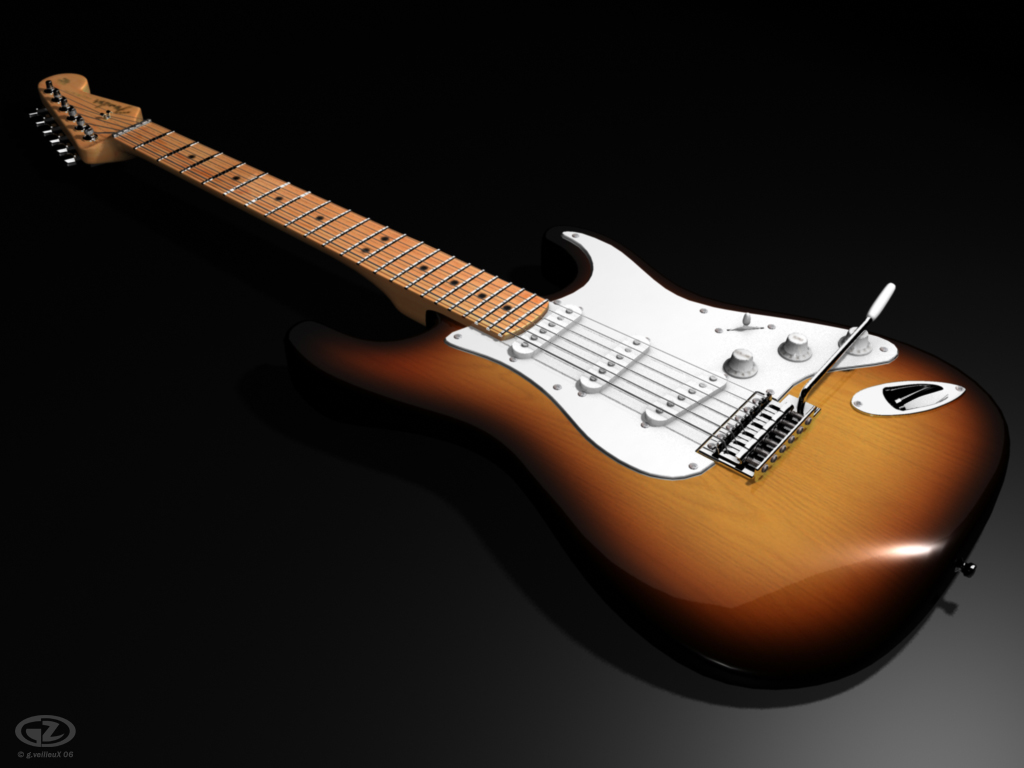Fender Stratocaster by ghypz 1024x768