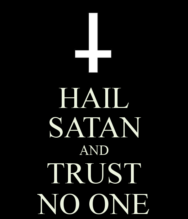 hail satan wallpaper wallpapersafari