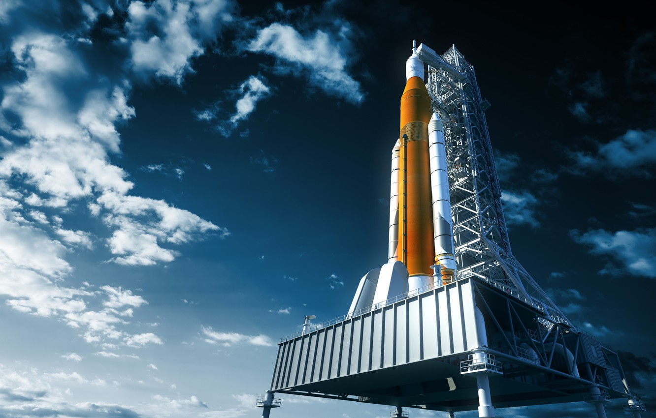 Wallpaper NASA art realism rocket images for desktop section 1332x850