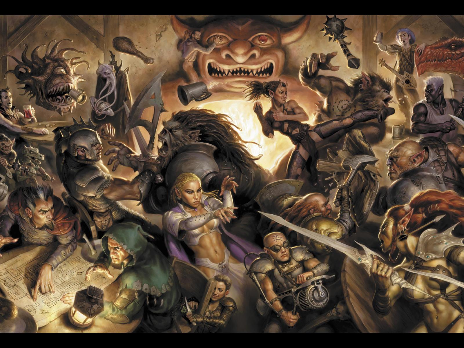 Tavern Brawl   Dungeons Dragons Daggerdale 1600x1200