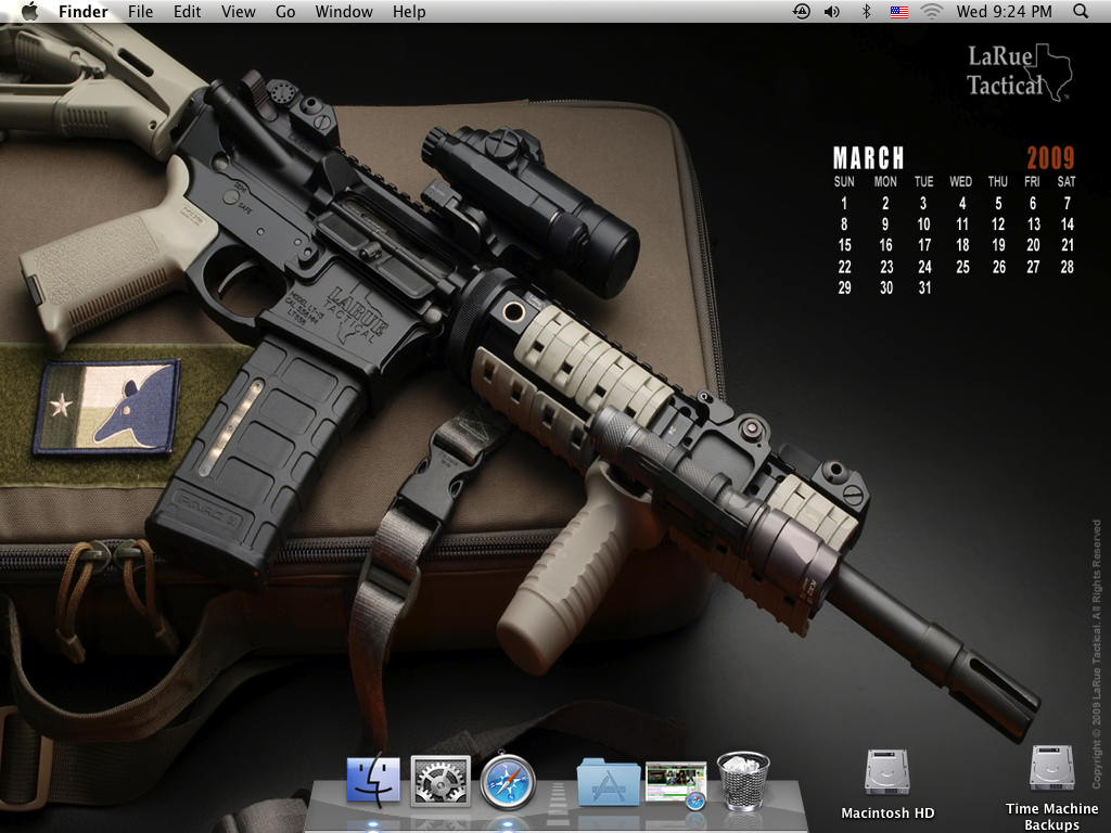 Larue Wallpapers for my Mac   AR15Com Archive 1024x768