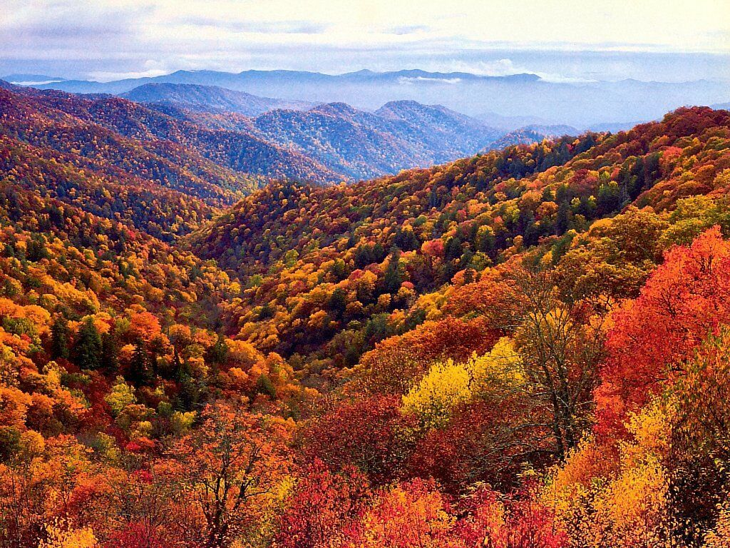 When is the Best Time to See Smoky Mountain Fall Colors 1024x768
