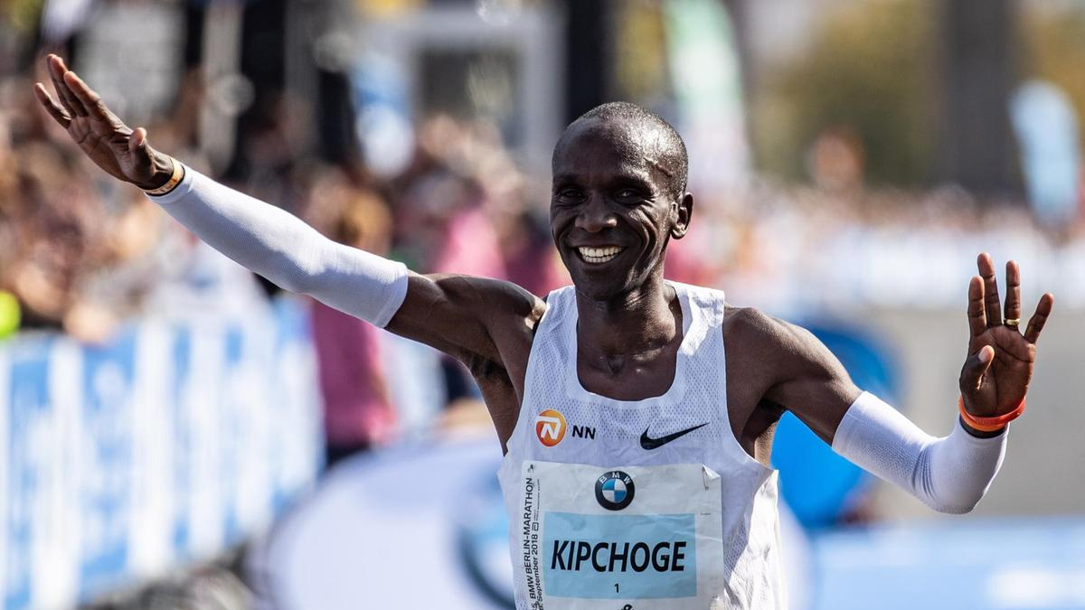 Eliud Kipchoge on shattering marathon record They say you can 1200x675