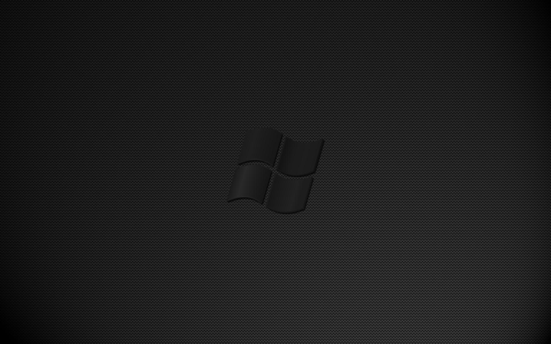 Group Of Windows Black Wallpaper