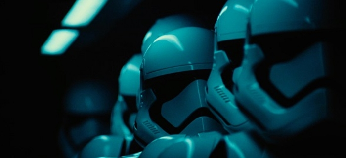 screensaver from the soon to be released movie Star Wars   The Force 700x320