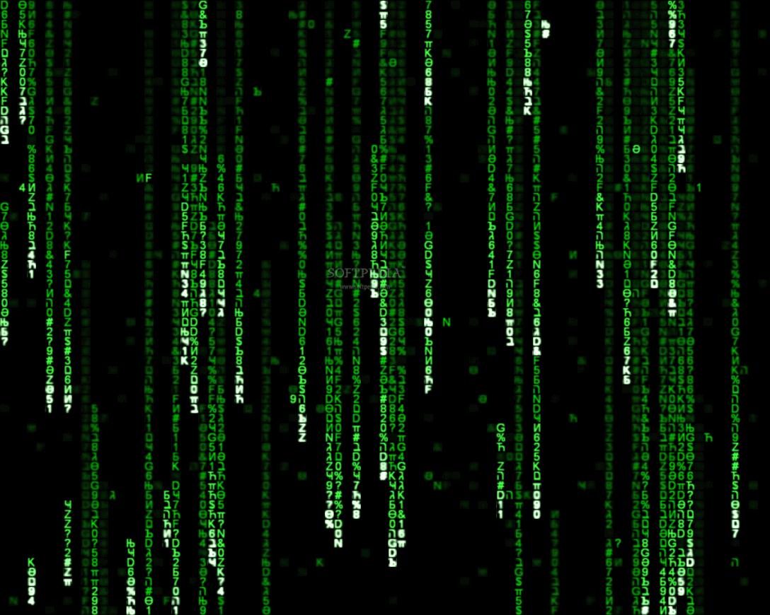 The Matrix Screen Saver 112b Download 1088x870