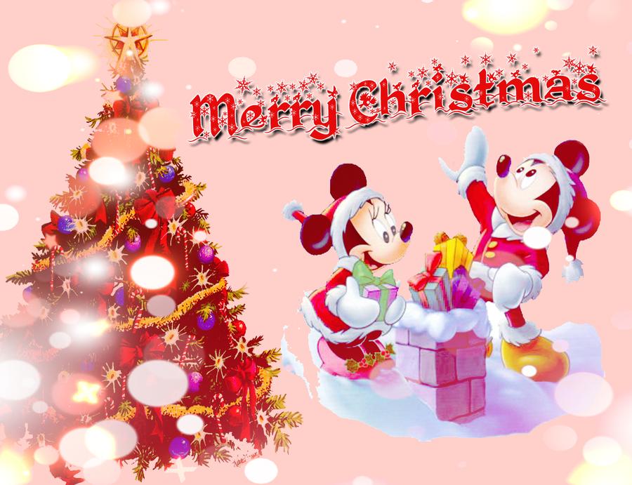 Minnie Mouse Christmas Wallpaper - WallpaperSafari