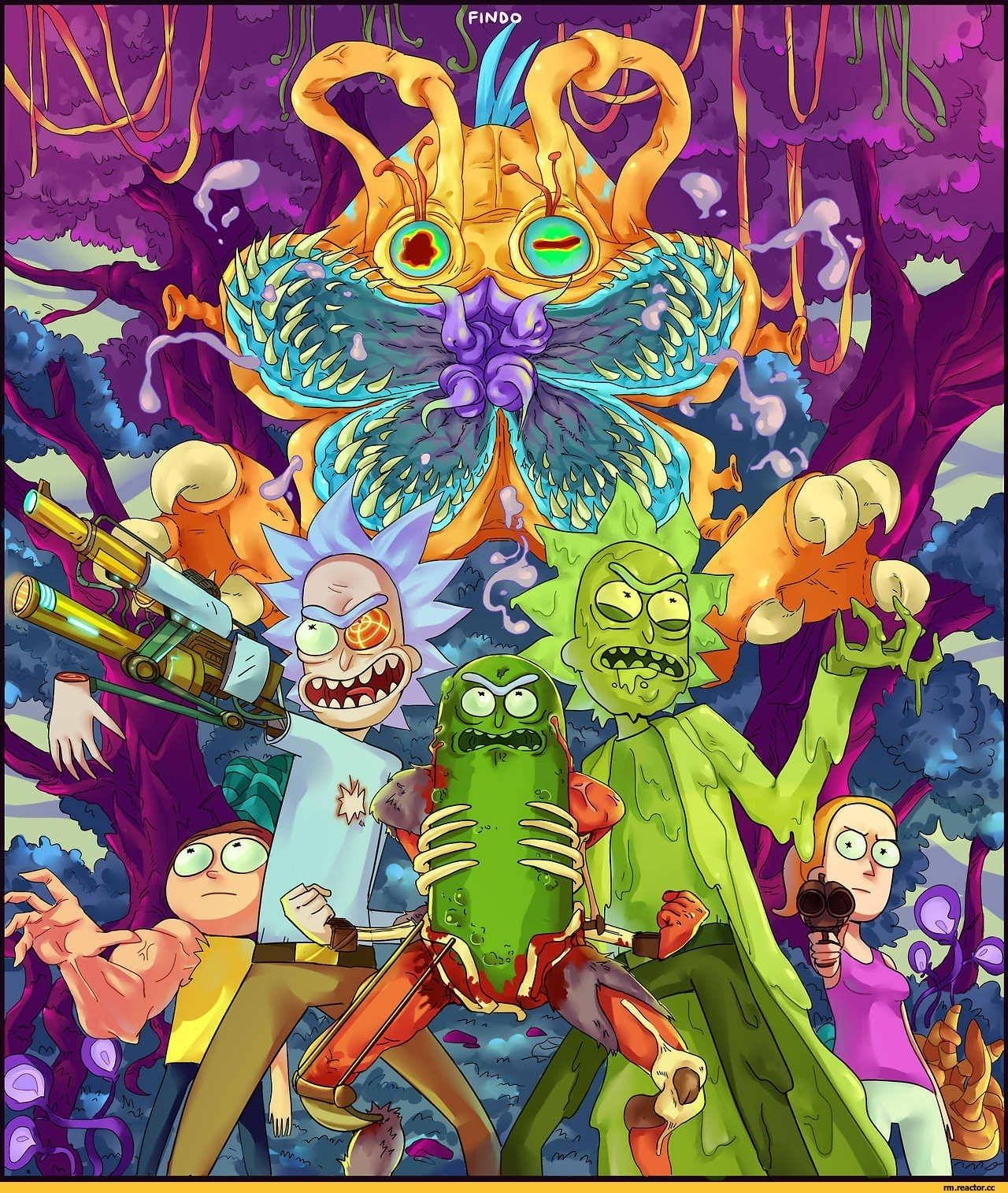 Rick and Morty Trippy Wallpapers   Top Rick and Morty Trippy 1280x1514