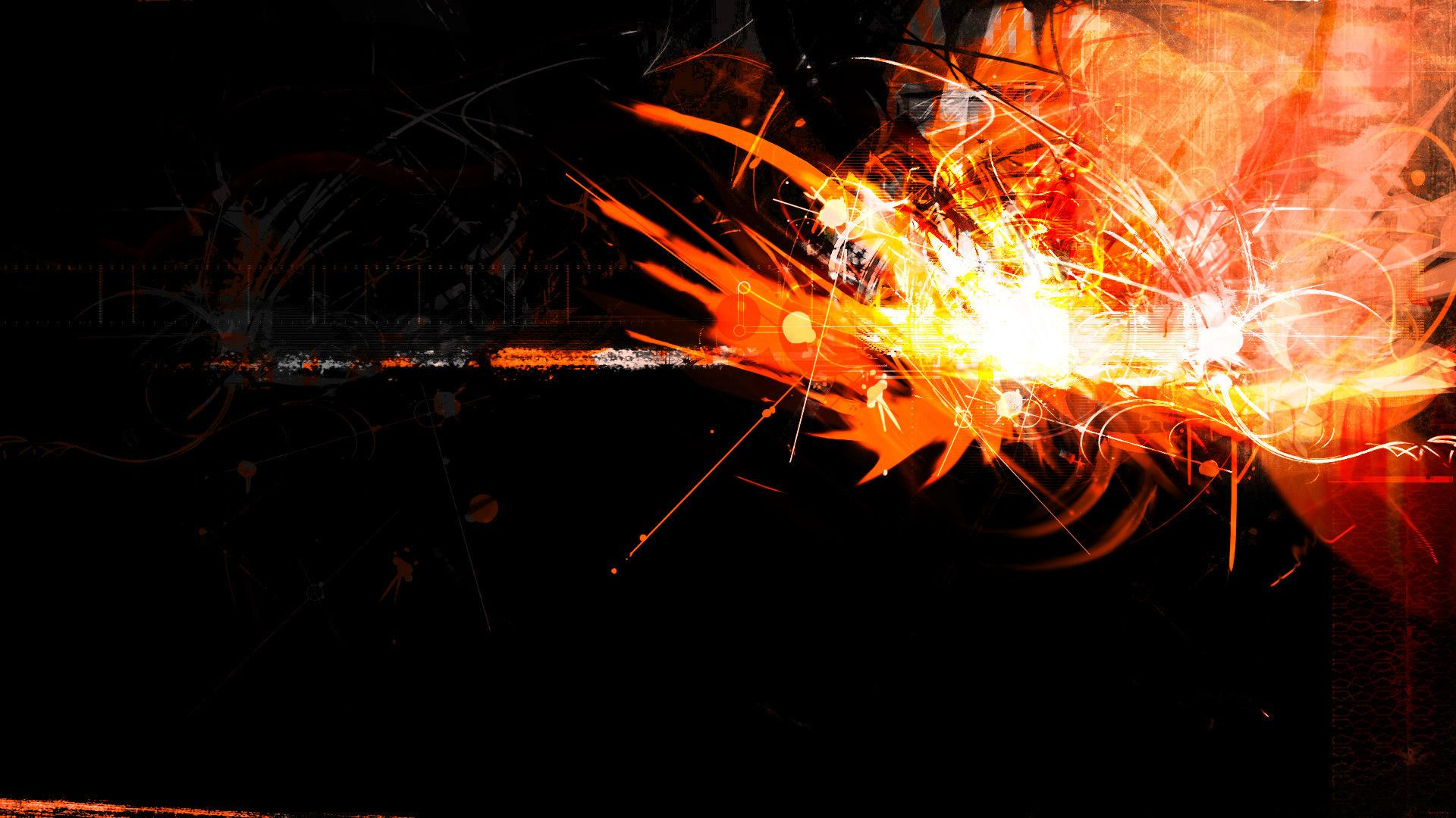 Cool Orange Backgrounds 1920x1080