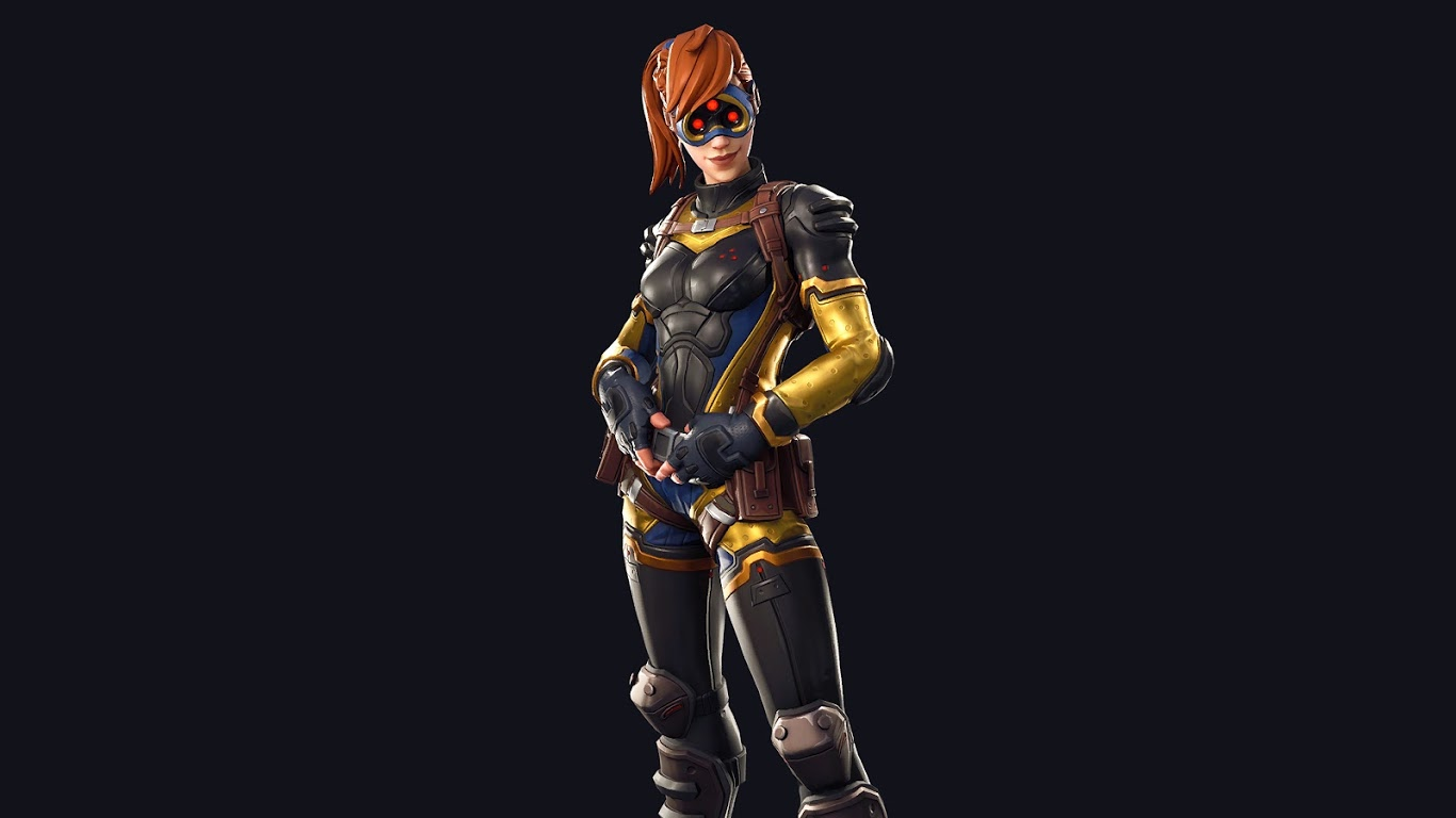 Free Download Fortnite Battle Royale Psion Outfit Skin 4k