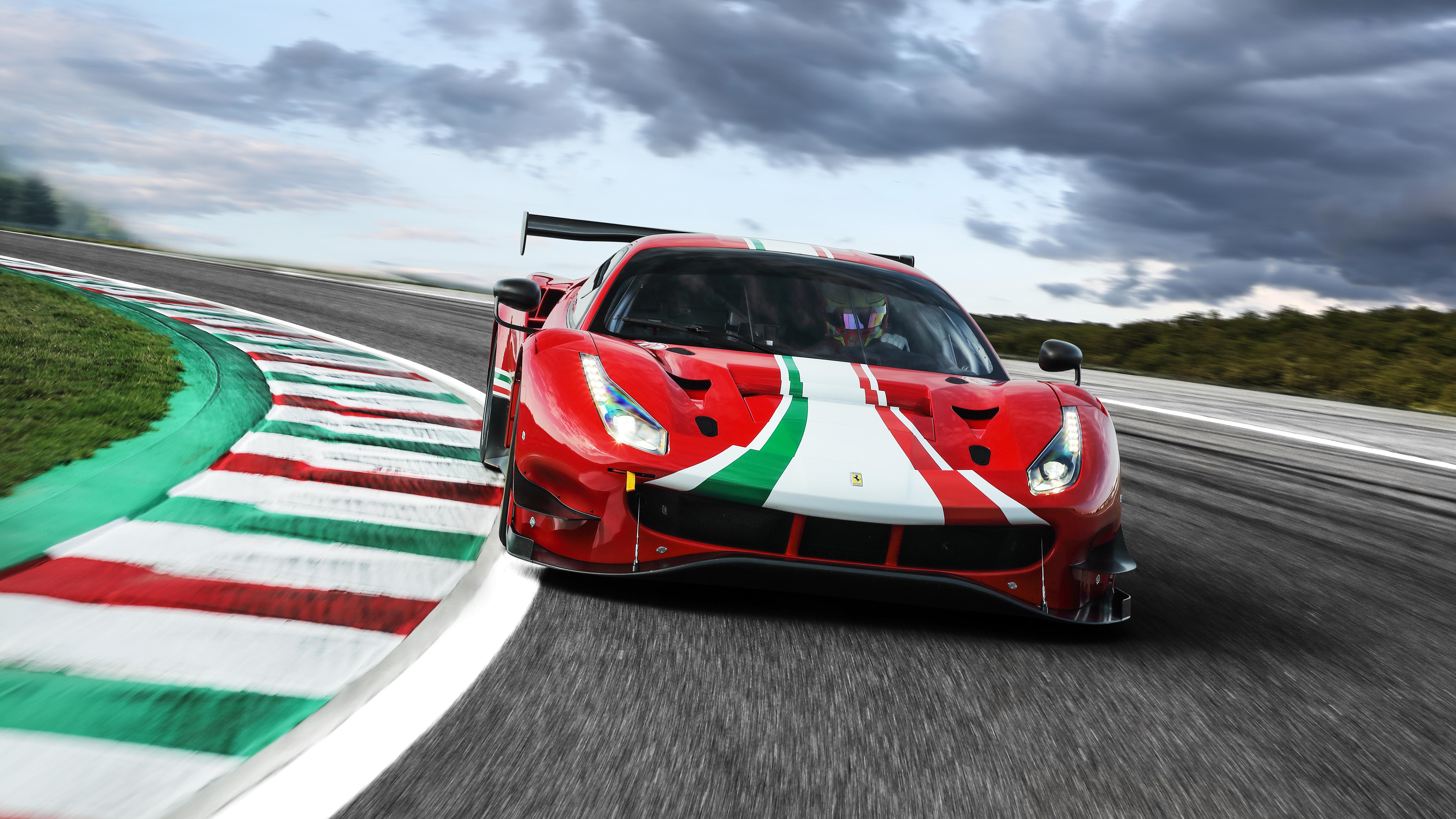 Ferrari 488 GT3 Evo 2020 5K 3 Wallpaper HD Car Wallpapers ID 5120x2880