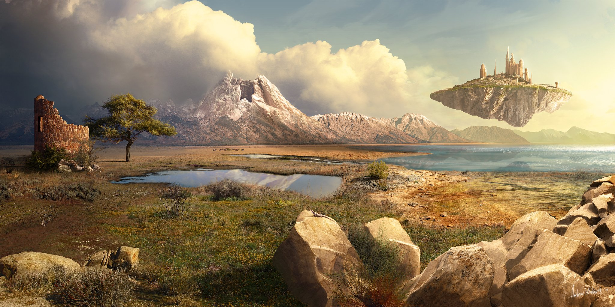 Matte Painting Wallpapers   HD Wallpapers Backgrounds of Your Choice 2048x1024
