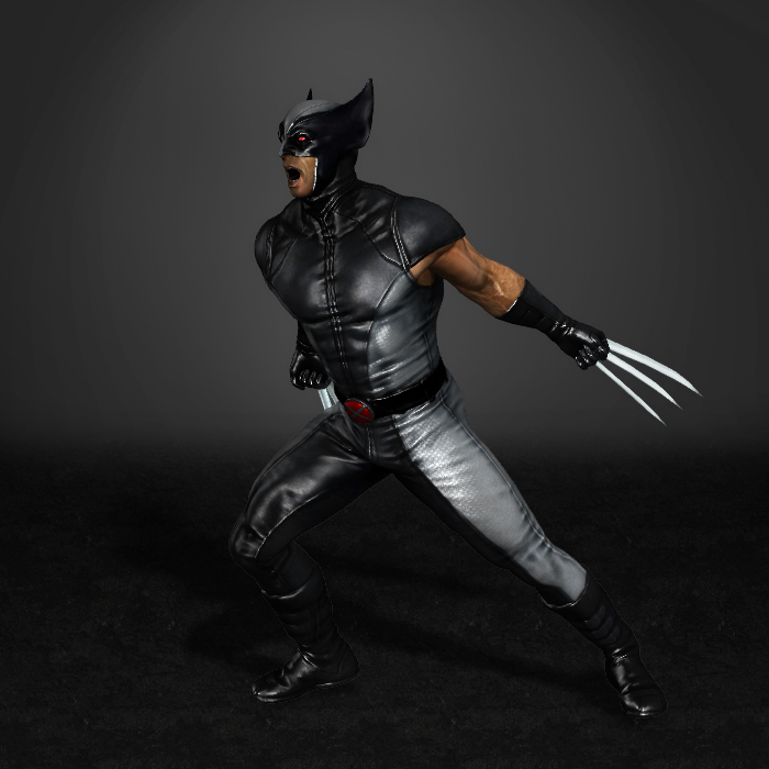 Men Origins Wolverine X Force Outfit by ArmachamCorp 700x700