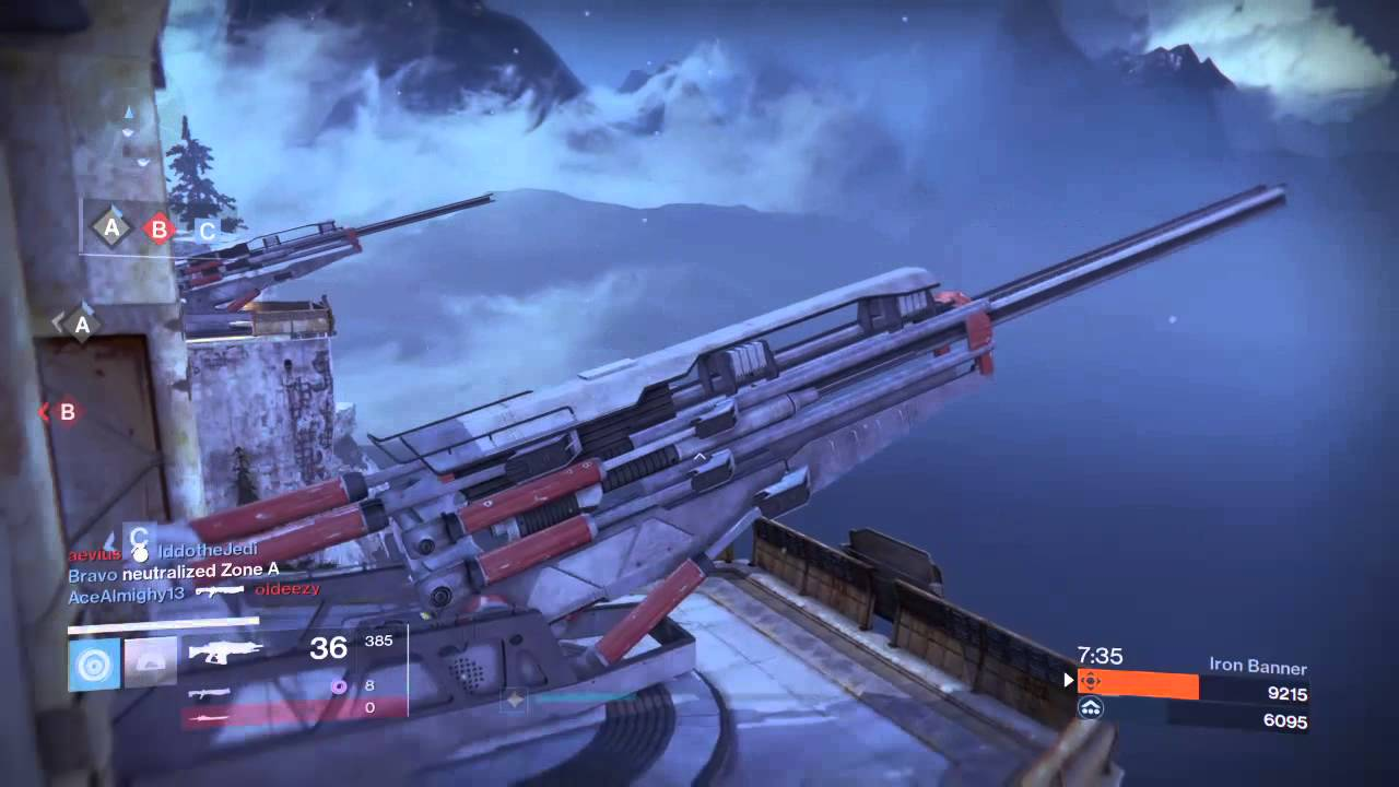 Destiny Iron Banner 11 kill streak 1280x720