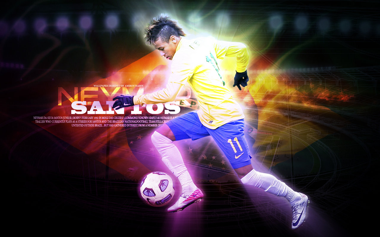 All Wallpapers Neymar New HD Wallpapers in 2012 1280x800
