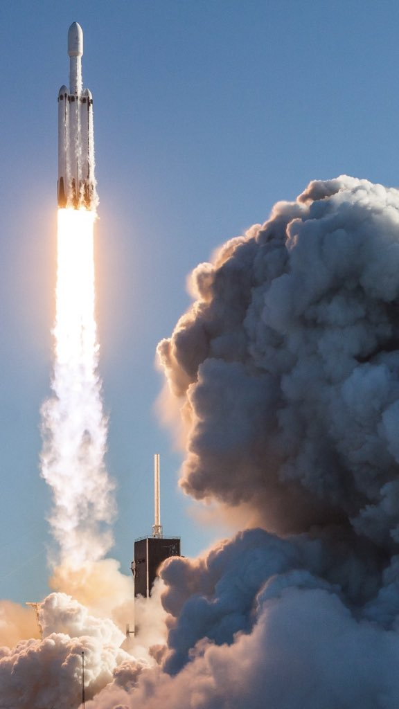 Pauline Acalin on Twitter A couple Falcon Heavy phone wallpapers 576x1024
