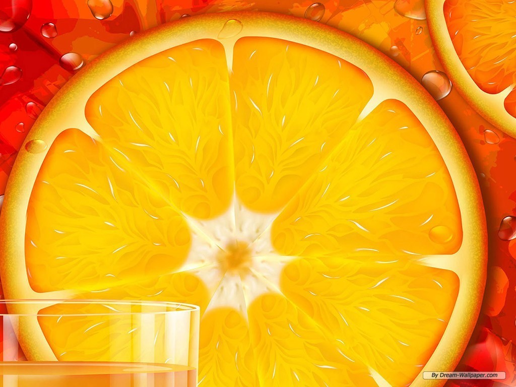 Orange Wallpaper   Fruit Wallpaper 7004551 1024x768