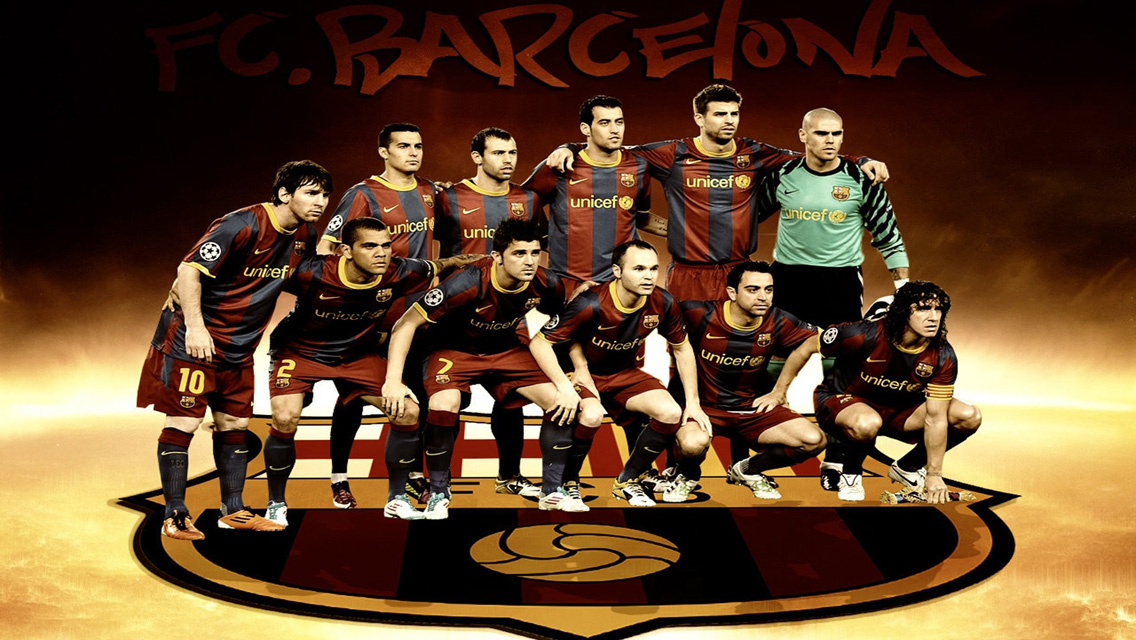 Barcelona 2012   Download FC Barcelona HD Wallpapers for iPhone 5 1136x640