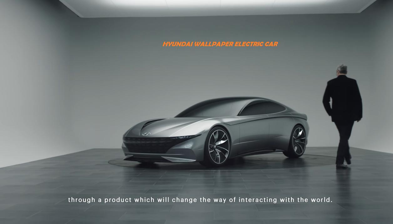 Hyundai Electric Car Named as Wallpaper   Promoting Eco Friendly 1256x718