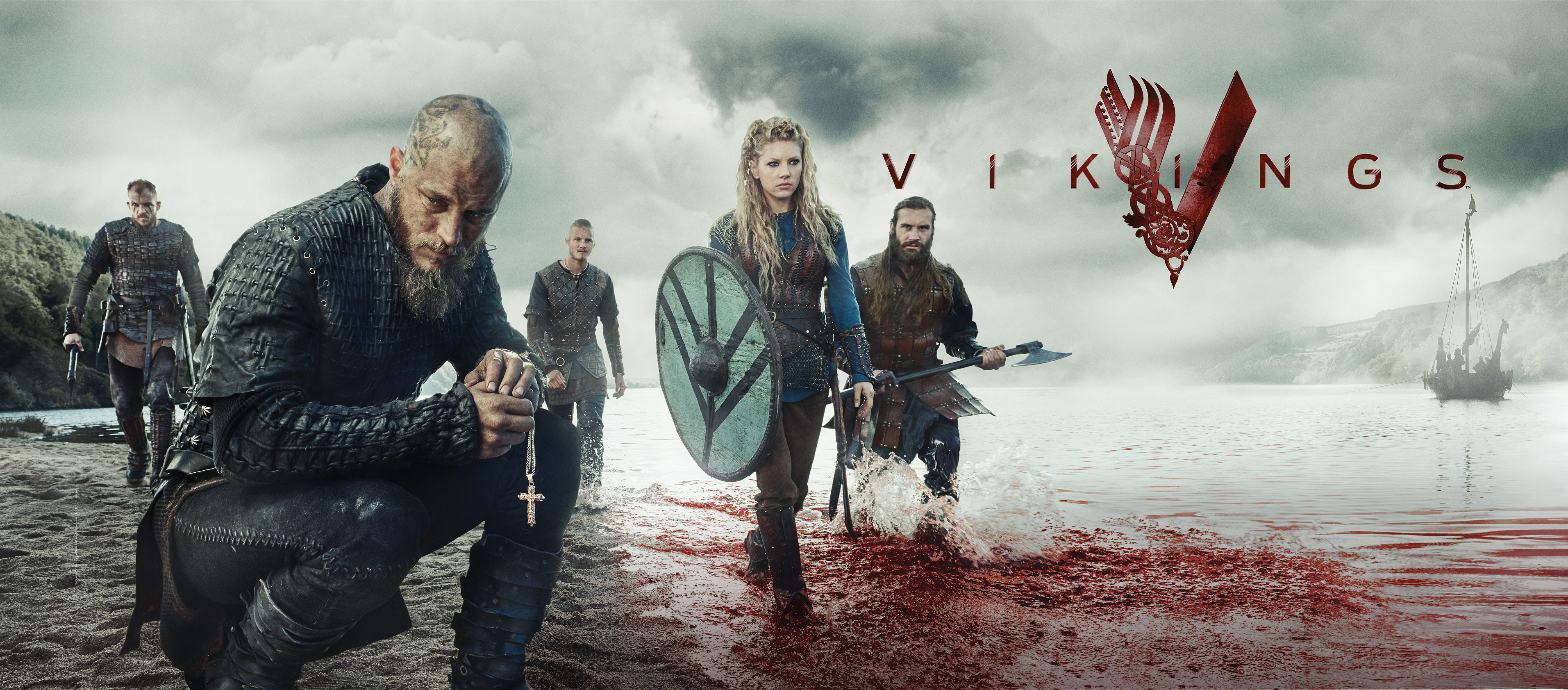 69 Hd Viking Wallpapers on WallpaperPlay 3826x1683