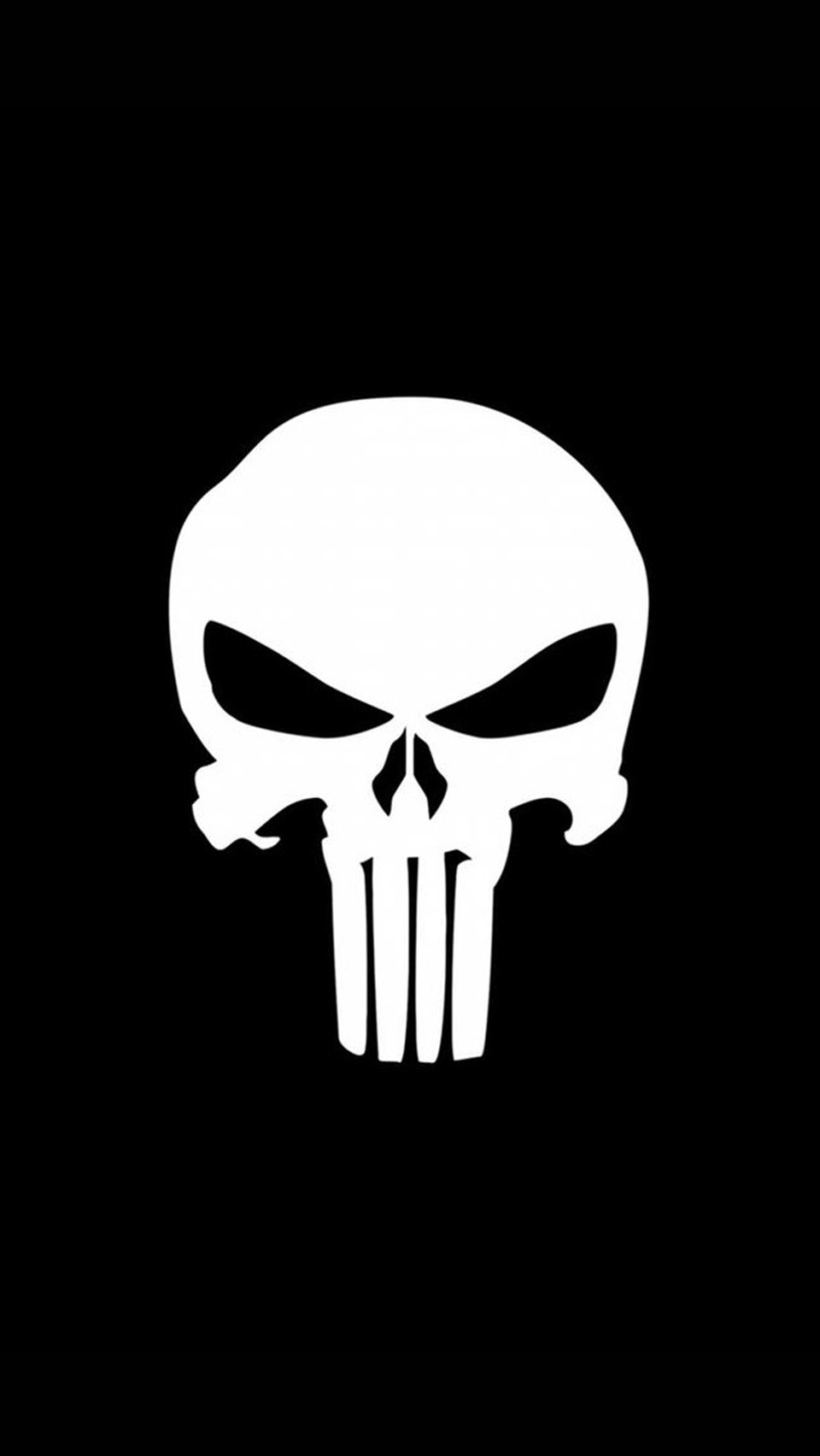 Skull Iphone 6 Wallpaper Punisher Logo photos of Iphone Wallpaper Size 960x1704