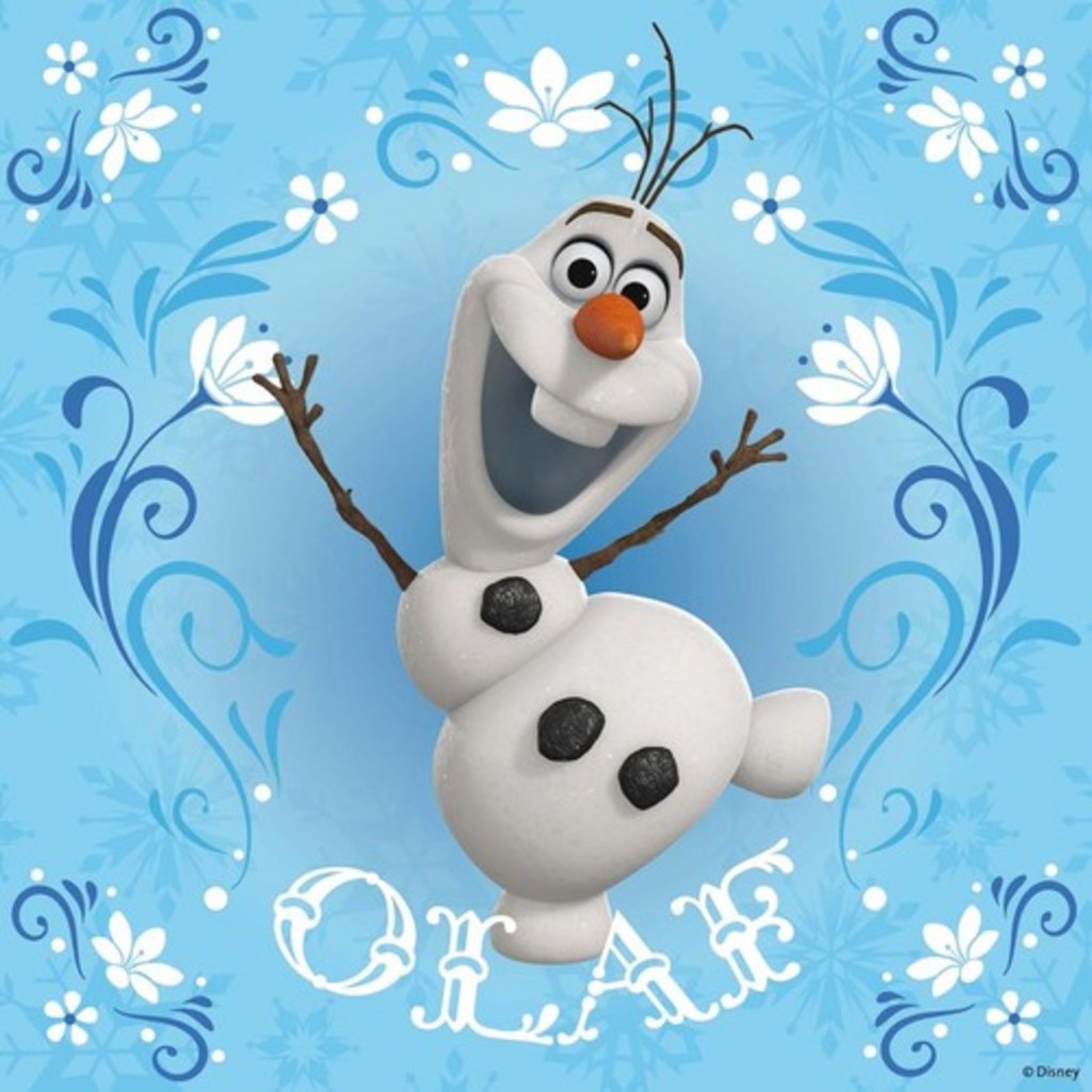 Olaf from Disneys Frozen Wallpaper for Apple iPad Mini 1024x1024