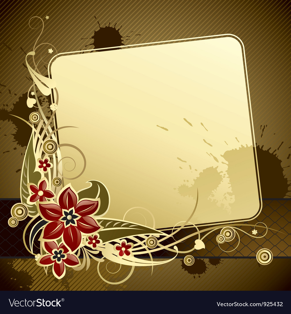 Gold classic background Royalty Vector Image 1000x1080