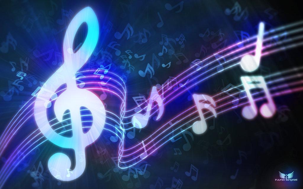 Music notes   Music Wallpaper 23865235 1024x640