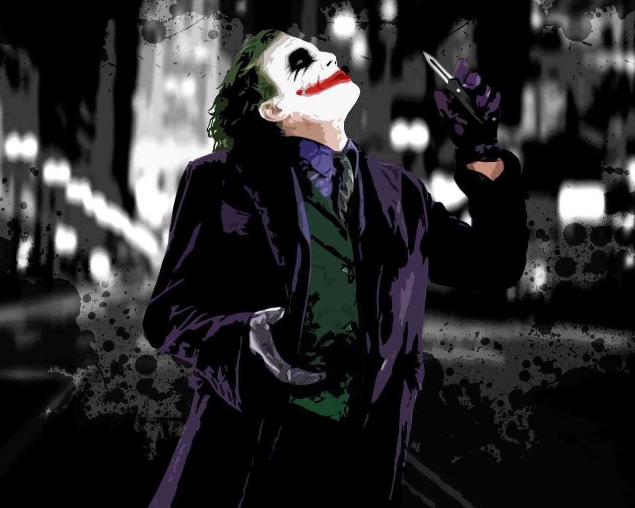 Dark Knight Joker Wallpaper Widescreen Hd Resolution 1280x1024
