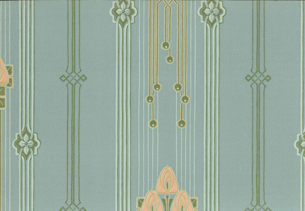 Art Deco wallpaper Chameleon Collection 1032x715