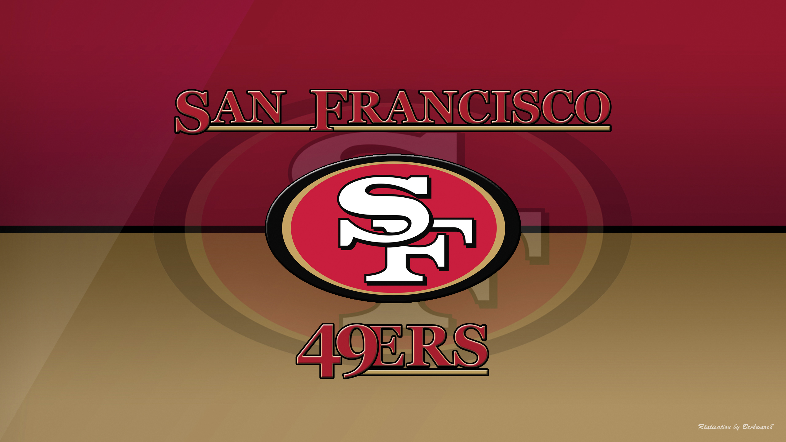 San Francisco 49ers by BeAware8 2560x1440