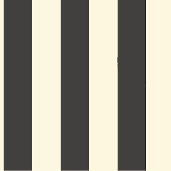 Black and Cream 3 inch Stripe Wallpaper   Wall Sticker Outlet 600x600