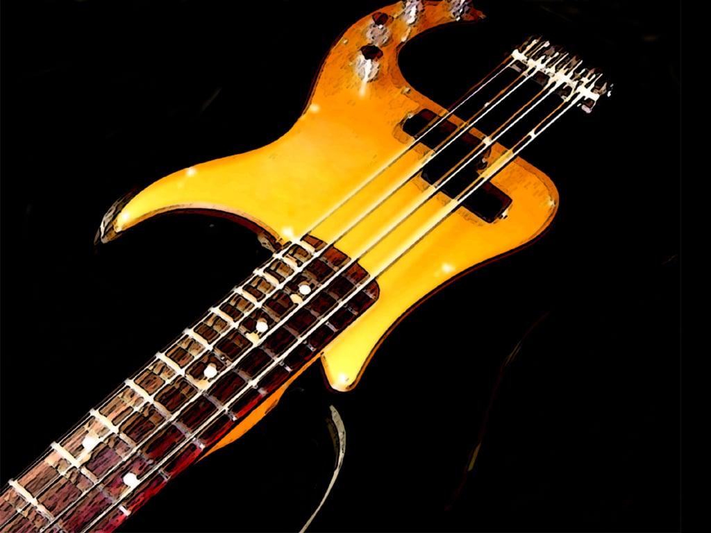 Hd Bass Guitar Wallpaper: Fender Bass Wallpaper